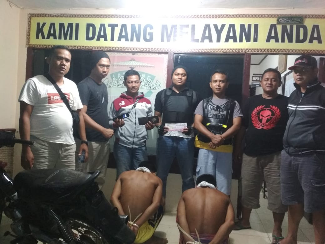 Polisi Tangkap Dua Pelaku Curas Di Limau