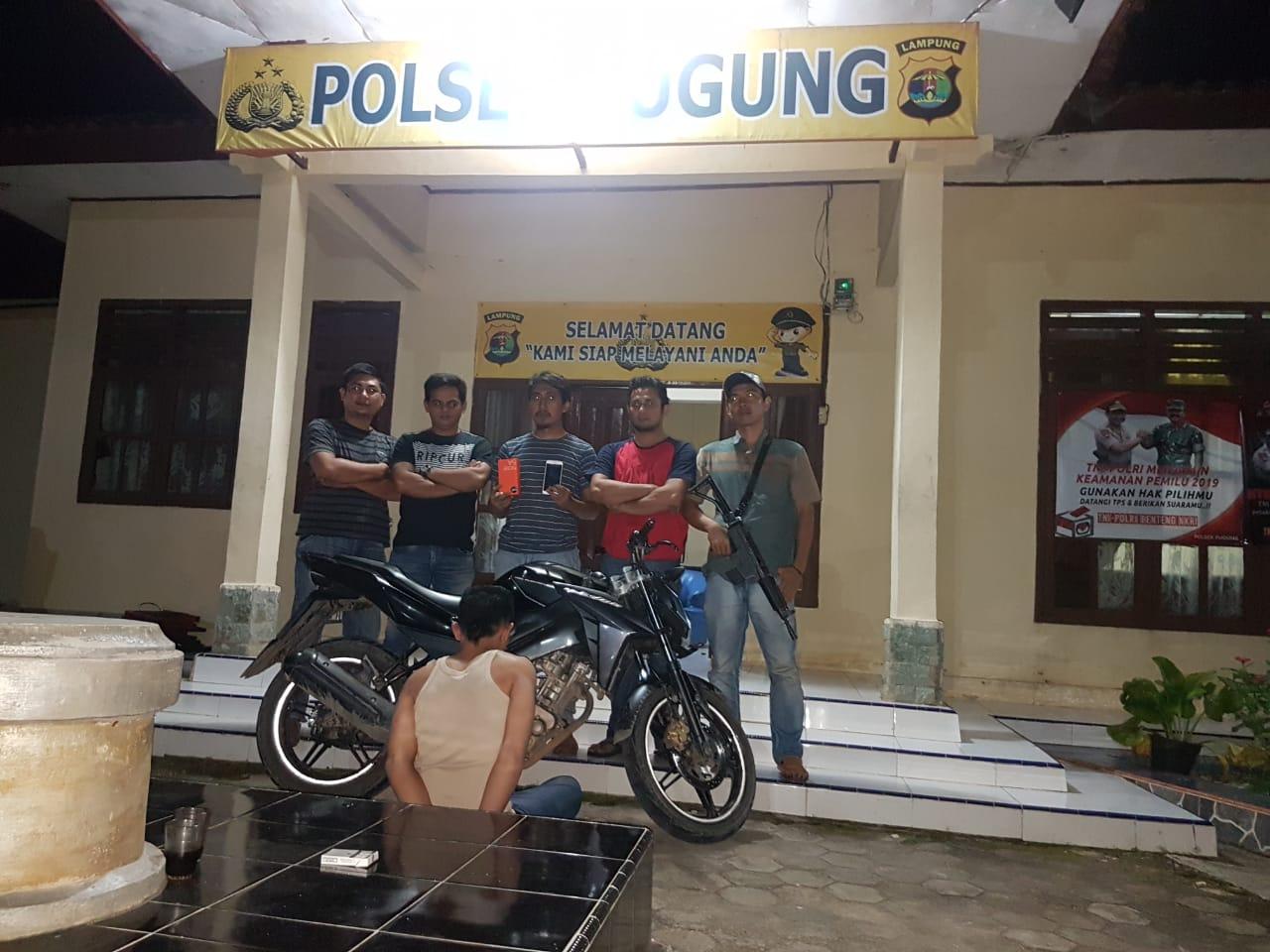 Pelajar Jambret Asal Tanggamus Ditangkap Saat Main PS
