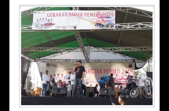 KPU Lampung Timur Mengadakan KPU RUN Se Lampung Timur
