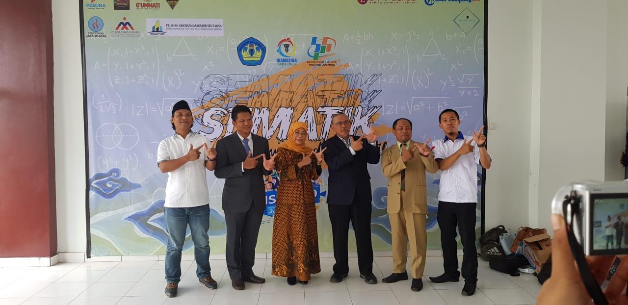 Ikamatika Unila Dan BPS Lampung Adakan Seminar 2019