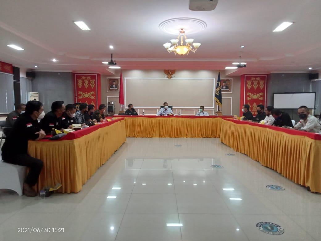 Bantu Kinerja Kanwil Menkumham, SMSI Lampung di Apresiasi