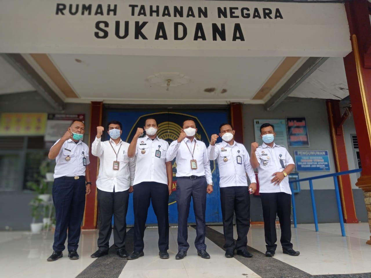 Tingkatkan Sinergitas, Rutan Sukadana Terima kunjungan dari Pengadilan Negeri Sukadana