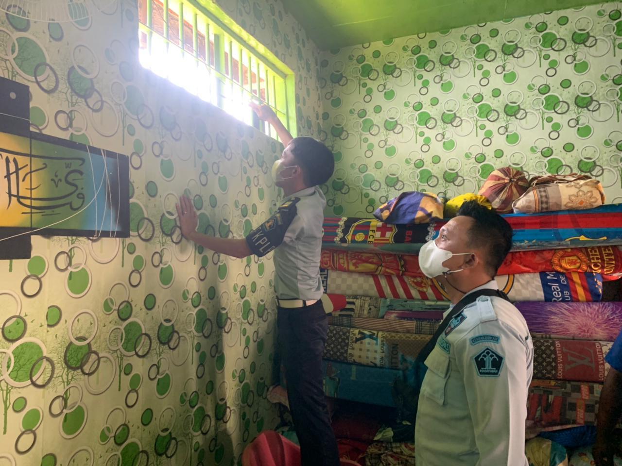 Lapas Narkotika Klas IIA Bandar Lampung Lakukan Pemeriksaan Blok Hunian WBP